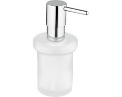 Дозатор для жидкого мыла Grohe Essentials 40394001 (хром глянец, матовое стекло)