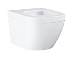 Чаша подвесного унитаза Grohe Euro Ceramic 39206000 (белый, безободковый, укороченный)