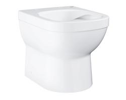Чаша напольного приставного унитаза Grohe Euro Ceramic 39329000 (белый, горизонтальный, безободковый, укороченный)