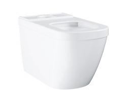 Чаша напольного унитаза Grohe Euro Ceramic 39338000 (белый, горизонтальный, безободковый)
