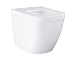 Чаша напольного приставного унитаза Grohe Euro Ceramic 39339000 (белый, горизонтальный, безободковый)