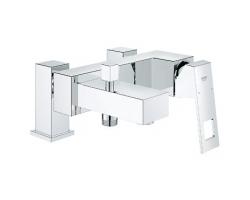 Смеситель для ванны Grohe Eurocube 23143000 (хром глянец, врезной на борт ванны)
