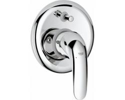 Смеситель для ванны Grohe Euroeco 32747000 (хром глянец, внешняя часть+скрытая часть, скрытого монтажа)