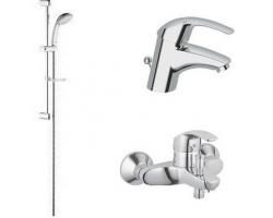 Комплект смесителей для ванной комнаты Grohe Eurosmart 117921