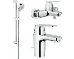 Комплект смесителей для ванной комнаты Grohe Eurosmart Cosmopolitan 116938