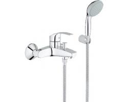 Смеситель для ванны Grohe Eurosmart New 33302002 (хром глянец, с душевым комплектом)