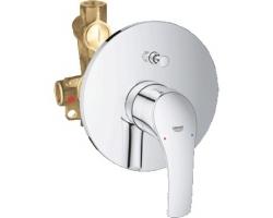 Смеситель для ванны Grohe Eurosmart New 33305002 (хром глянец, внешняя часть+скрытая часть, скрытого монтажа)
