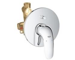 Смеситель для ванной Grohe Eurostyle New 23730003 (хром глянец, внешняя часть+скрытая часть, скрытого монтажа)