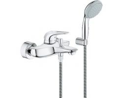 Смеситель для ванны Grohe Eurostyle New 33592003 (хром глянец, с душевым комплектом)
