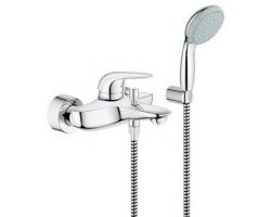 Смеситель для ванны Grohe Eurostyle New 33637003 (хром глянец, внешняя часть+скрытая часть, скрытого монтажа)