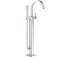 Смеситель для ванны Grohe Grandera 23318000 (хром глянец, внешняя часть, напольного монтажа)