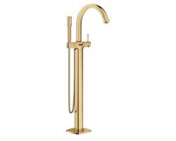 Смеситель для ванны Grohe Grandera 23318GL0 (золото, внешняя часть, напольного монтажа)