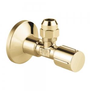 Угловой вентиль Grohe 22039GL0 1/2*3/8 (золото глянец)