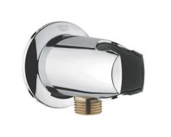 Шланговое подключение с держателем Grohe Movario 28406000 (хром глянец)