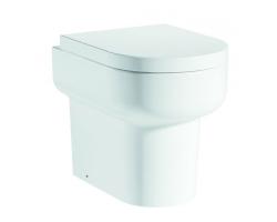 Унитаз приставной Grossman Elegance GR-PR3015 (белый, микролифт)