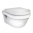 Унитаз подвесной Gustavsberg Hygienic Flush WWC 5G84HR01 (безободковый) (без крышки)