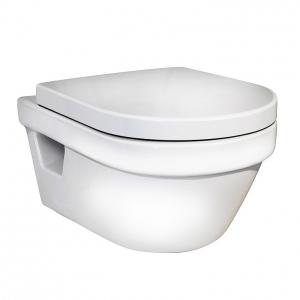 Чаша подвесного унитаза Gustavsberg Hygienic Flush WWC 5G84HR01 (безободковый)