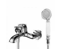 Смеситель для ванны Iddis Oldie OLDSB00i02 (хром глянец, с душевым комплектом)