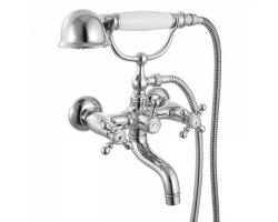 Смеситель для ванны Iddis Sam SAMSB02i02 (хром глянец, с душевым комплектом)