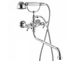 Смеситель для ванны Iddis Sam SAMSBL2i10 (хром глянец, с душевым комплектом)