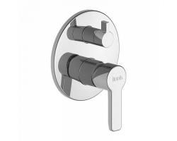 Смеситель для ванны Iddis Sena SENSB00i67 (хром глянец, внешняя часть+скрытая часть, скрытого монтажа)