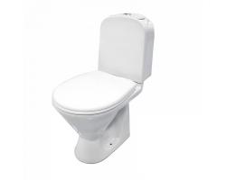 Унитаз напольный Iddis Skif  SKI2DSEI24 (горизонтальный, дюропластовое сиденье, микролифт)