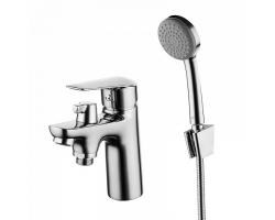 Смеситель для ванны Iddis Torr TORSB10i07 (хром глянец, с душевым комплектом, врезной на борт ванны)