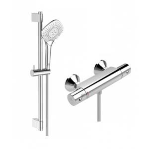 Комплект смесителей для ванной комнаты Ideal Standart Ceratherm B0055AA (хром глянец)