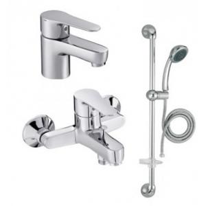 Комплект смесителей для ванной комнаты Jacob Delafon July 3 в 1 Set Juli
