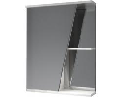 Зеркало-шкаф Какса-А Астра 55 55 см. 003366 (белое, левое, без подсветки)