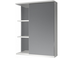 Зеркало-шкаф Какса-А Грация 55 55 см. 002916 (белое, правое, без подсветки)