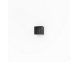 Полка кубик Какса-А Кристалл 30 30 см. 3996 (серая, подвесная, открытая)