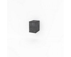 Полупенал Какса-А Кристалл 30 30 см. 3997 (серый, подвесной)