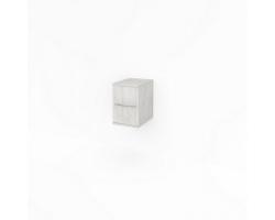 Полупенал Какса-А Кристалл 30 30 см. 3998 (белый, подвесной)