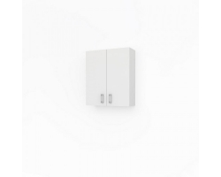 Шкаф Какса-А Лайт 60 60 см. 4563 (белый, подвесной, две двери)