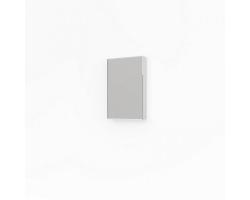 Шкаф-зеркало Какса-А Лайт 45 45 см. 4564 (белое)