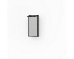 Зеркало-шкаф Какса-А Патина 65 65 см. 4359 (черное с золотом, угловой)