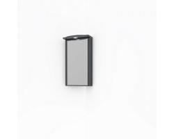Зеркало-шкаф Какса-А Патина 65 65 см. 4362 (черное с белым, угловое)