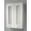 Шкаф Какса-А Витраж 50 50 см. 003430 (белый, подвесной)