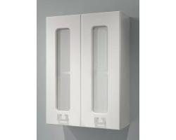 Шкаф Какса-А Витраж 50 50 см. 3430 (белый, подвесной)
