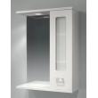 Зеркало-шкаф Какса-А Витраж 55 55 см. 003239 (белое, правое)
