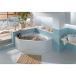 Стальная ванна Kaldewei Vaio Duo 3 962-7 140х140 234248053001 (easy cleane с фронтальной панелью)