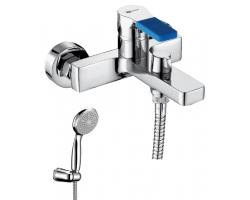 Смеситель для ванны Lemark Aura LM0614C (хром глянец, с душевым комплектом)