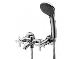 Смеситель для ванны Lemark Duetto LM5712C (хром глянец, с душевым комплектом)