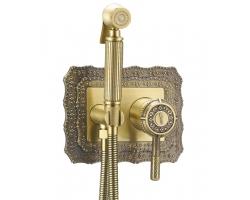 Комплект для гигиенического душа Lemark Jasmine LM6619B (бронза, скрытое подключение)
