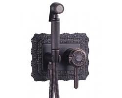 Комплект для гигиенического душа Lemark Jasmine LM6619ORB (чёрная бронза, скрытое подключение)