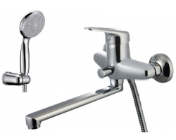 Смеситель для ванны Lemark Luna LM4110C (хром глянец, с душевым комплектом)