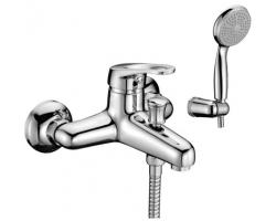 Смеситель для ванны Lemark Omega LM3102C (хром глянец, с душевым комплектом)