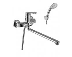 Смеситель для ванны Lemark Plus Shape LM1751C (хром глянец, с душевым комплектом)