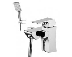 Смеситель для ванны Lemark Unit LM4515C (хром глянец, с душевым комплектом, врезной на борт ванны)